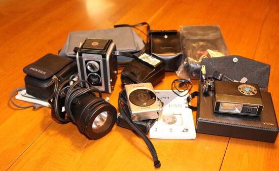 Cameras & Accessories: Canon, Pentax, Kodak & More