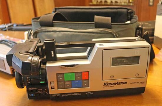 Early Kodak Video Camera, Ca. 1980's