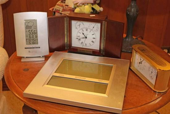 Weather Stations & Clocks: Elgin & More