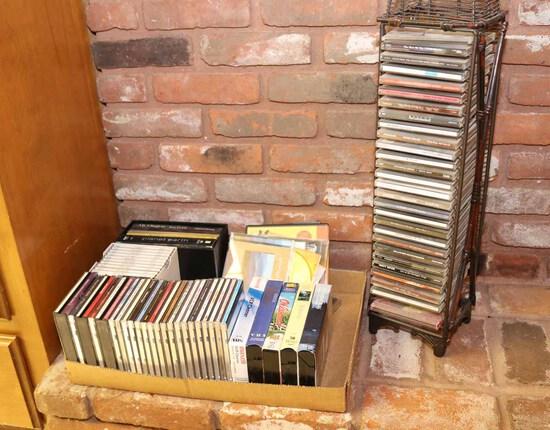 Media: CDs, DVDs, VHS Tapes & More