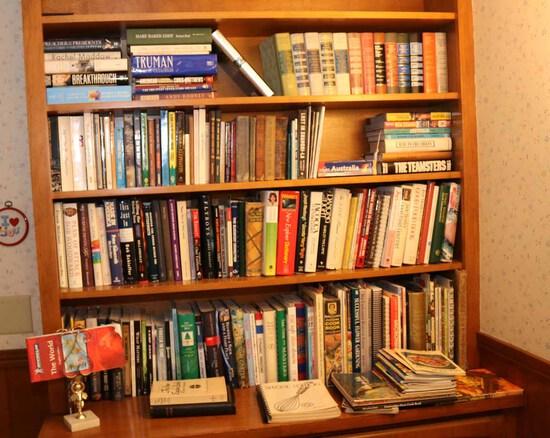 Large Assortment of Books: Vintage to Modern Hardbacks