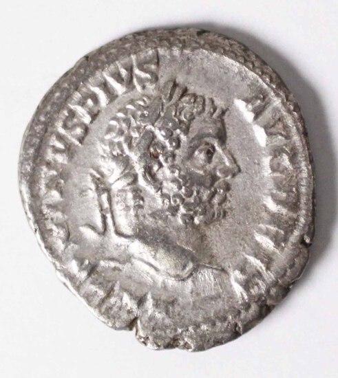 198-217 AD Imperial Rome Denarius AR Cacalla