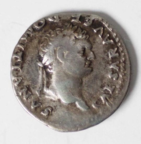 81-96 AD Imperial Rome AR Domitian