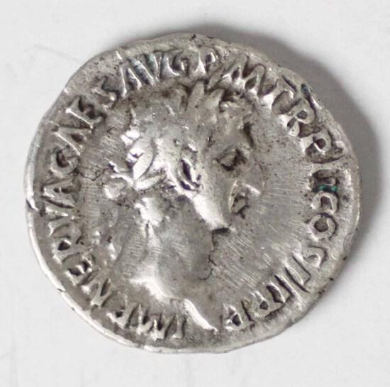 96-98 AD Imperial Rome Denarius AR Nerva