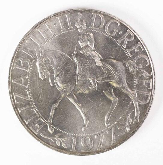 1952-1977 Queen Elizabeth II Silver Jubilee Crown Commemorative