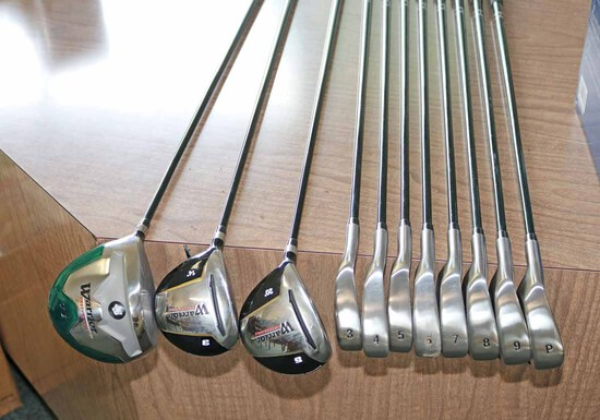 Warrior Left Handed Golf Club Set