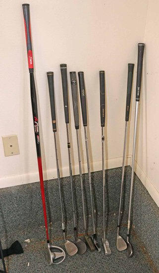 Assorted Putters & Wedges - Left Handed