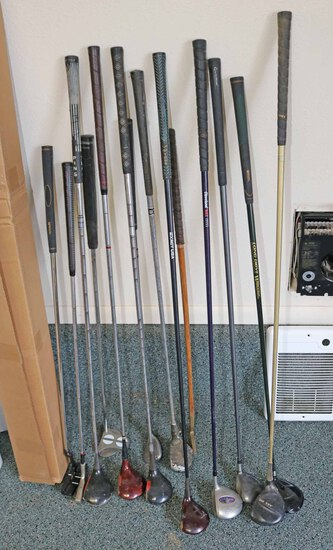 Left Handed Wood Head Clubs, Putters & More