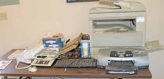 Assorted Office Equipment, Accessories