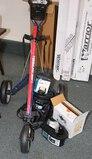 Walking Golf Cart, Umbrella, Ball Washer, Cooler