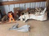 Chrysler 8 Outboard Motor, Anchor, Prop & Gas Tanks, More