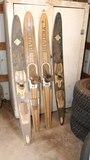 Vintage Wood Water Skis