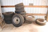 Assorted Car & Truck Tires