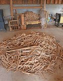 Assorted Kindling, Wood, Fire Logs