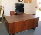 Desk, Filing Cabinet, Pad, Office Chair, Shredder