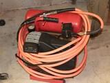 Air Compressor w/ Hose & Tire Nozzle