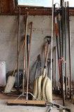 Brooms, Shovel, Trimmer, Fence Posts & More