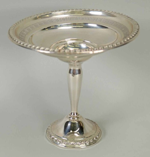Rogers Weighted Sterling Silver Compote