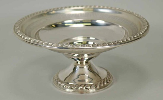 Rogers Weighted Sterling Silver Pedestal Bowl