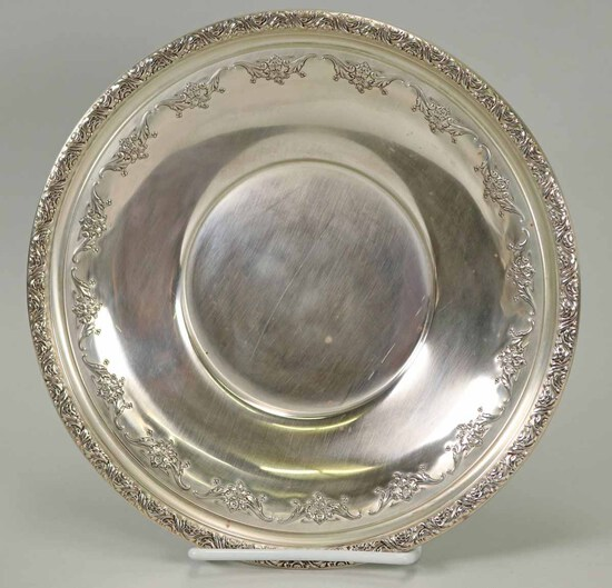 Alvin Sterling Silver Decorative Bowl, 224.6 Grams