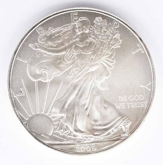 2009 Walking Liberty American Eagle Silver Dollar