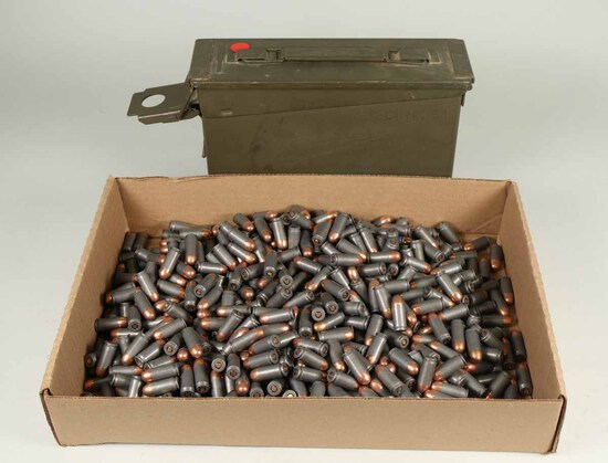 Wolf.45 Auto Ammo, 620 Rds. (+ -) w/ Can