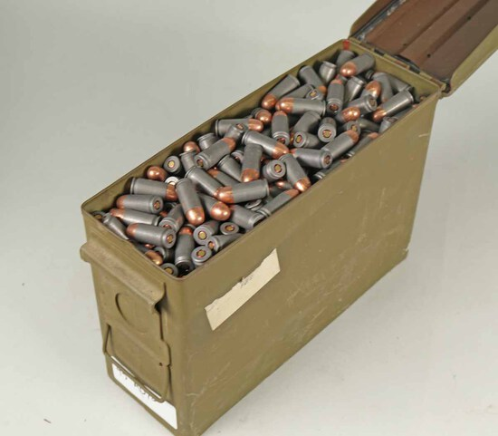 Wolf .45 Auto Ammo,  740 Rds. (+ -) w/ Can