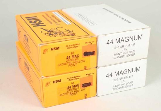 .44 Magnum Ammo, 182 Rds.