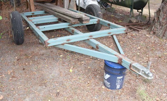 Small Utility Trailer Frame