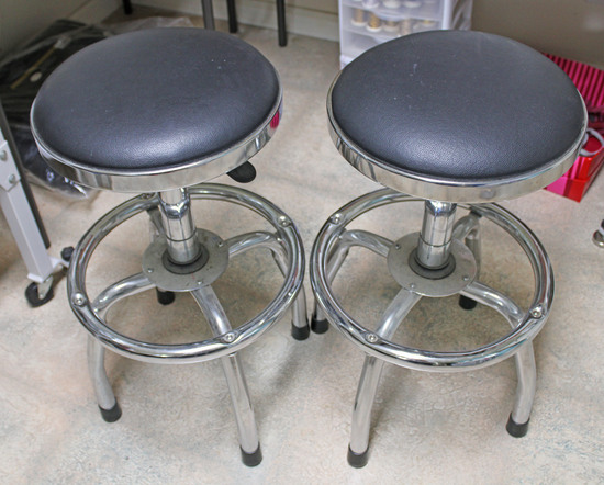Two Stools for Embroidering