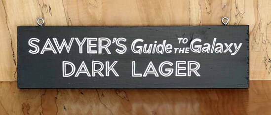 Sawyer's Guide - Steel Bridge Sign Board