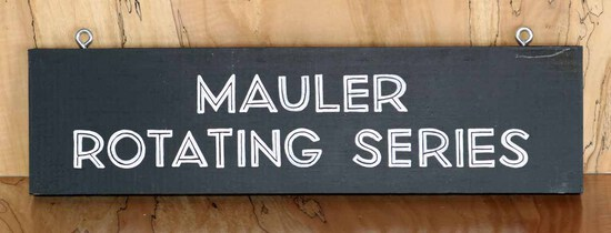 Mauler Rotating  Sign Board