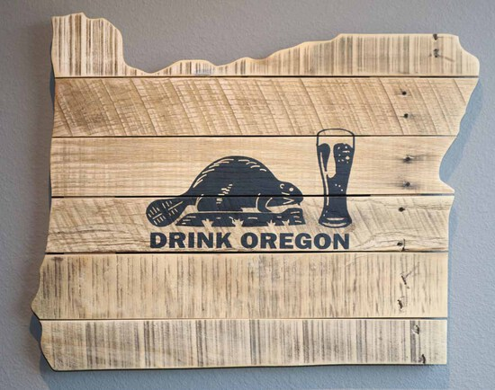 Drink Oregon Sign - Charity Item
