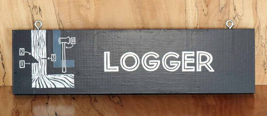 Logger Sign Board