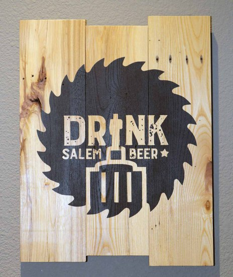 Drink Salem Beer Sign - Charity Item