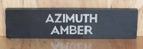 Azimuth Amber Test Sign