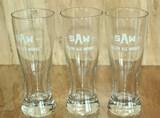 3 SAW Half Pint Glasses
