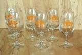 6 SAW Fruit Beer Jubilee Glasses