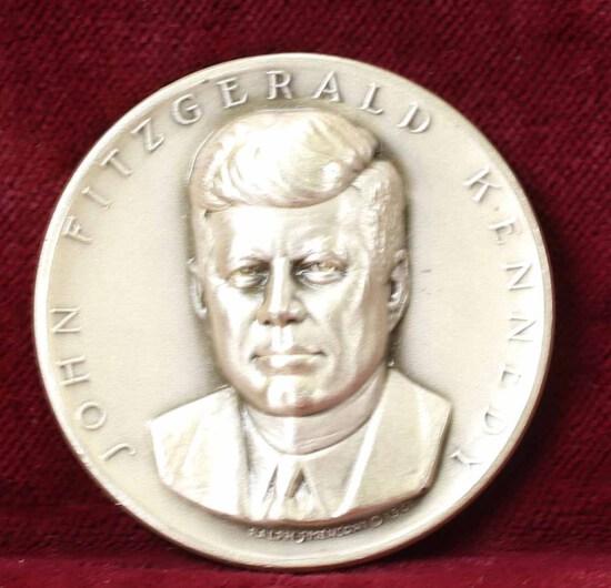 JFK Presidential  Silver Medal, 24.1 Grams