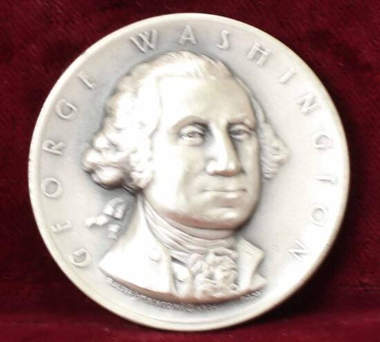 George Washington Presidential Silver Medal, 24.2 Grams