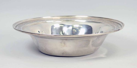 Large Sterling Silver Bowl, 523 Grams