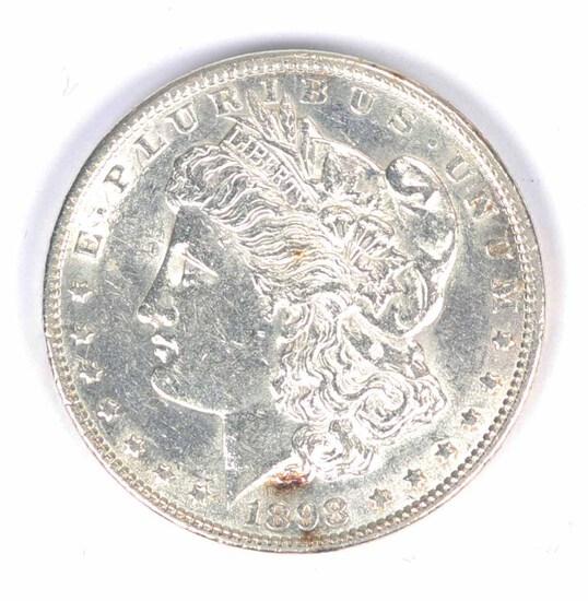 1898-P Morgan Silver Dollar