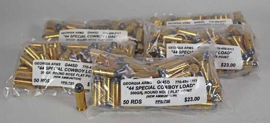 "Georgia Arms ""44 Special Cowboy Load"" 200 Gr., 250 Rds."