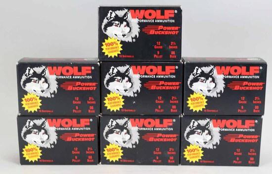 "Wolf 12 Ga. ""Power Buckshot"", 70 Rds."
