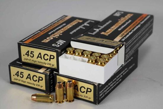 "IAI .45 ACP ""Law Enforcement Grade"" .230 Gr. Ammo, 200 Rds."