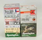 Assorted 20 Ga. Shotshells: Remington, Winchester; 125 Rds.