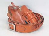 Leather Gun Belt & Holsters:  El Paso Saddlery &  George Lawrence