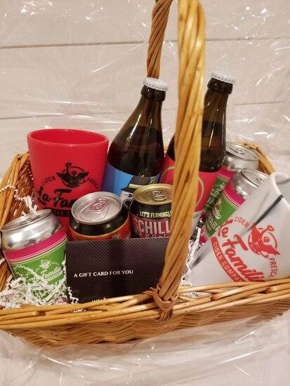 La Familia Taproom Gift Basket