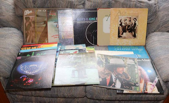 Vinyl LP Records: Ace, REO, Foghat, Dylan, Frampton & More
