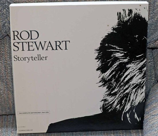 "Rod Stewart Anthology ""Storyteller"" Boxed CD Set"